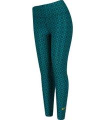 calça legging da seleção brasileira 2019 nike - feminina - verde/amarelo