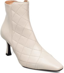 booties 5214 shoes boots ankle boots ankle boot - heel vit billi bi