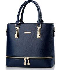8 color women handbags leather large shoulder bags fashion purse l212-5