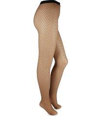 wolford women's diamond snake tights - gobi - size m