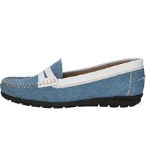 loafers naturläufer ljusblå