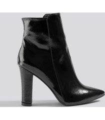 trendyol women high heel boots - black