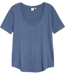 women's bp. all day tee, size xx-large - blue