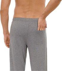 schiesser pyjama gestreept grijs