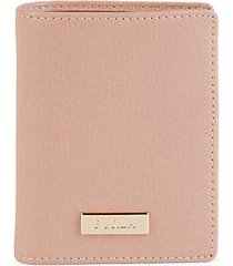 classic leather bi-fold wallet