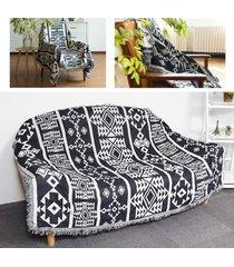nueva bohemia boho sofá tiro alfombra sofá sofá del salón silla hoja de manta cama # 230 * 275cm - 90x150cm