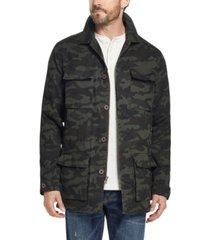 weatherproof vintage men's fleece lined camo jacket, created for macy's