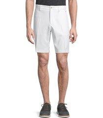 j.lindberg men's alex flat-front shorts - black - size 30