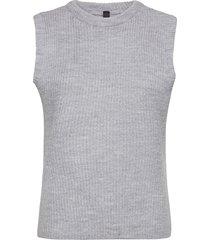 yaszal waistcoat d2d vests knitted vests grå yas