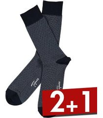 topeco mens sock mercerized cotton dots * gratis verzending *