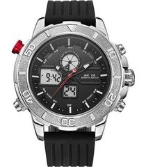relógio weide anadigi wh-6108