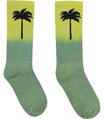palm angels cotton sport socks