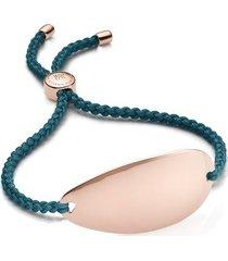 rose gold nura friendship bracelet