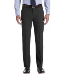 awearness kenneth cole awear-tech charcoal slim fit pants