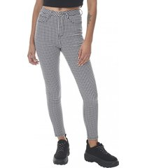 jeans print super high rise skinny cuadrille corona