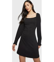 blusa glamorous negro - calce ajustado
