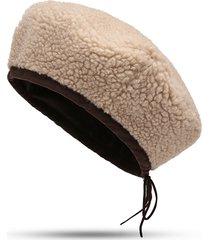cappello berretto da donna casual invernale in lana berretto invernale da donna