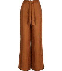 lautre chose high-waist wide-leg trousers
