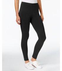 maison jules basic mid-rise leggings, created for macy's