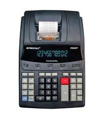 calculadora de mesa procalc pr5000t 12 dígitos impressão térmica