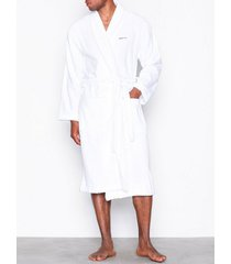 gant terry robe morgonrockar white