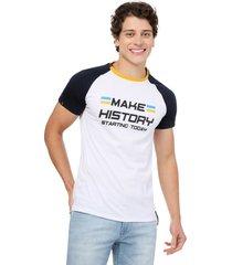 camiseta  combinada  blanco  manpotsherd croacia