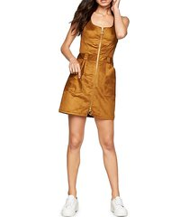 zip jumper dress