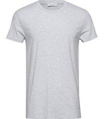 kronos o-n ss 273 t-shirts short-sleeved grå samsøe & samsøe