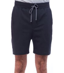 dmitry pantaloneta con pretina en resorte y cordón de amarrar con cortes contrastes en posterior