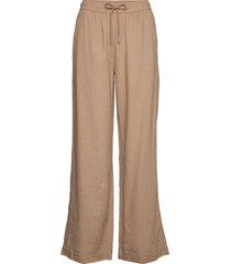 brizaiw pants pantalon met rechte pijpen beige inwear