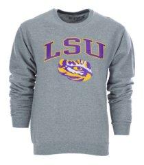 top of the world men's lsu tigers midsize crewneck sweatshirt