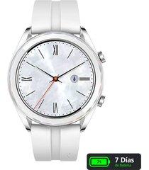 reloj huawei gt b19 elegant - blanco