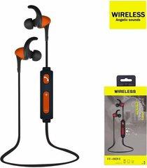 audífonos bluetooth, fe-801e deportivo auriculares - naranja