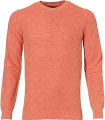 jac hensen pullover - regular fit - oranje