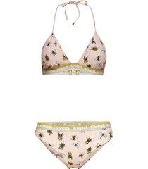 sardinien triangle bikini gul svea