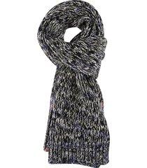 jil sander patterned woven scarf