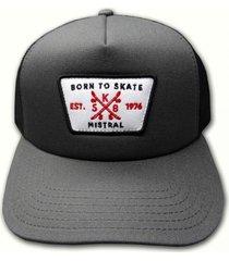 gorra gris mistral currice