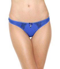colaless azul playboy intimates glossy