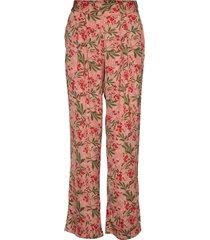 trousers vida byxor rosa rosemunde