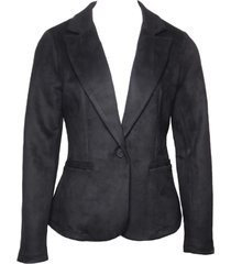 20 to 20to blazer suede-look k25 black zwart