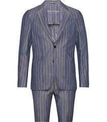 bs provence tailored, suit pak blauw bruun & stengade