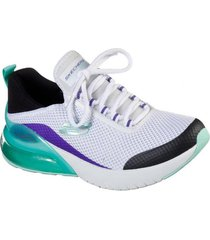 zapatos mujer  skech-air stratus-sparkling w blanco skechers