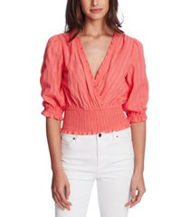 1.state shimmer stripe top
