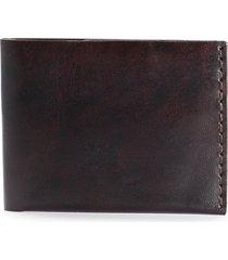 ezra arthur no. 6 leather wallet in jet black at nordstrom