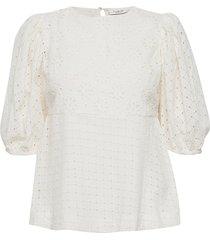 day casa blouses short-sleeved vit day birger et mikkelsen