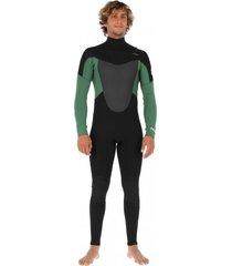 traje de surf g1 front 5/4/3 mm verde stoked