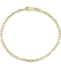 chloe & madison women's 18k gold vermeil chain bracelet