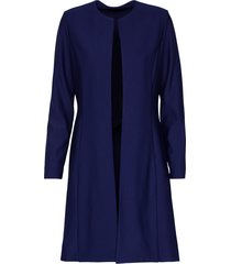 diva blazer/jas model twilight coat kleur marineblauw