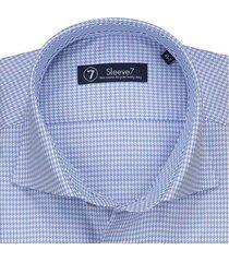 sleeve7 overhemd lichtblauw pdp monti