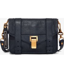 proenza schouler ps1 mini crossbody bag midnight/blue one size